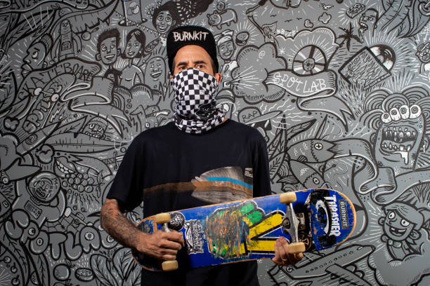 BRA: A Day with Skate Champion Bob Burnquist at his NGO Amidst the Coronavirus (COVID - 19) Pandemic