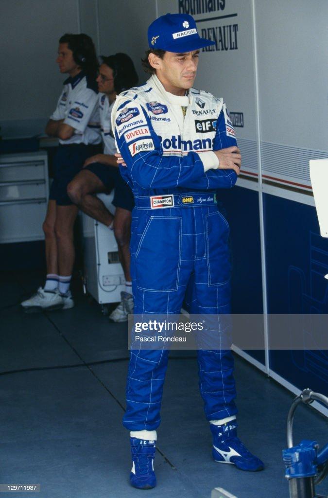 Senna At Aida : News Photo