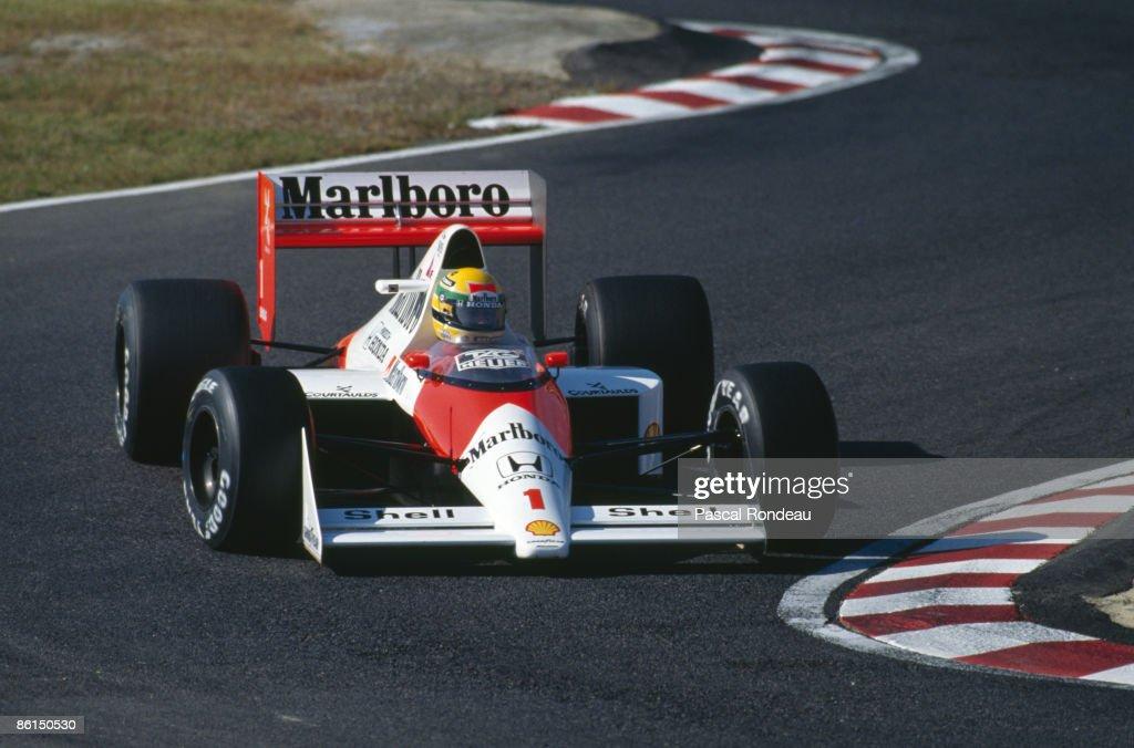 Senna At Suzuka : News Photo