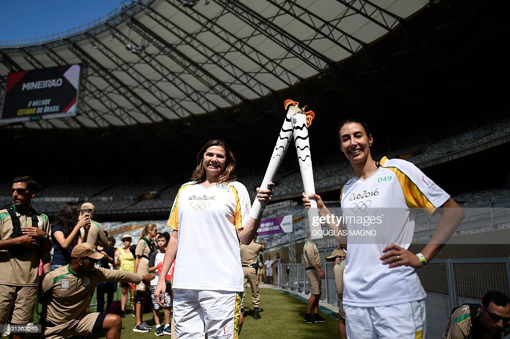 OLY-2016-RIO-TORCH : News Photo