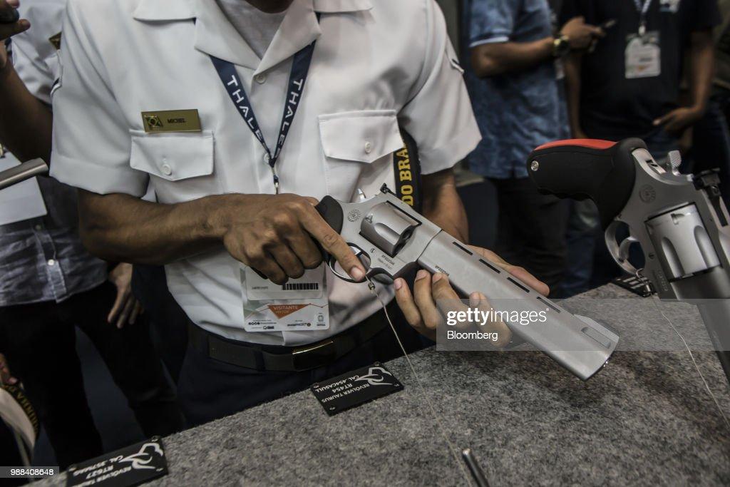 Inside The Rio International Defense Exhibition (RIDEX) : News Photo