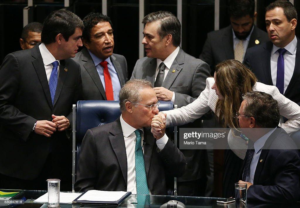 Senate In Brazil Votes On Impeachment Of President Dilma Rousseff