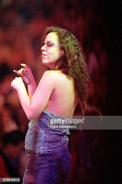 Brazilian singer Bebel Gilberto performs at the North Sea Jazz Festival on July 16th 2001 in Amsterdam, Netherlands.
