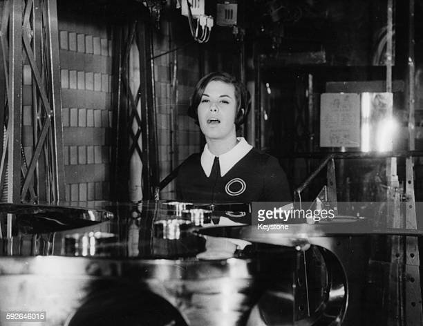Brazilian singer Elis Regina in Paris France where she is due to perform at the Olympia Music Hall 31st October 1968