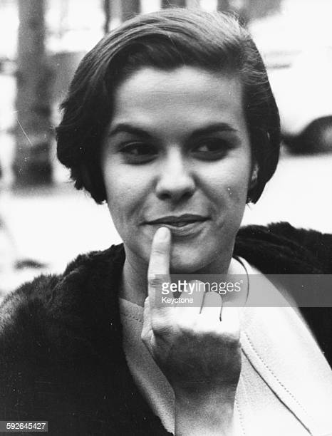 Brazilian singer Elis Regina who will soon be performing at the Paris Olympia Music Hall Paris France 31st October 1968