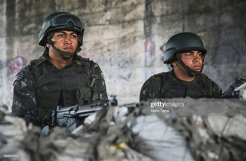 Brazil Sends In Armed Forces to Assist in Policing Poor