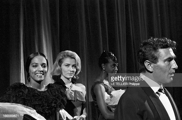 Brazilian Stars Of Marcel Camus In Paris Paris le 12 novembre 1960 lors de la sortie du film de Marcel CAMUS ' Os Bandeirantes' ou 'Les Pionniers'...