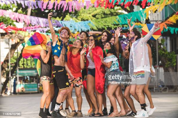 brazilian street carnival - pride stock pictures, royalty-free photos & images