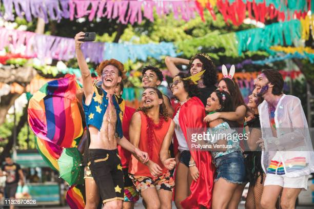 brazilian street carnival - mardi gras stock pictures, royalty-free photos & images