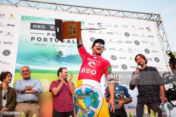 Brazilian surfer Italo Ferreira was the winner of Meo Rip Curl Pro Portugal.