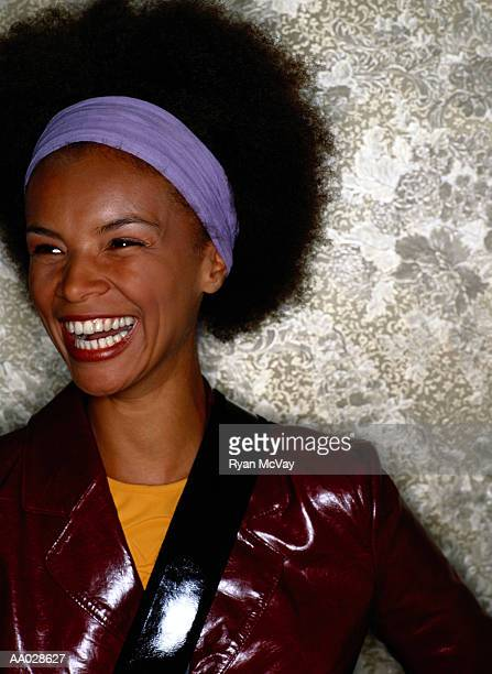 Brazilian Woman Laughing