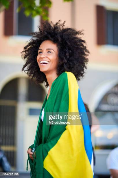 Mujer brasileña.