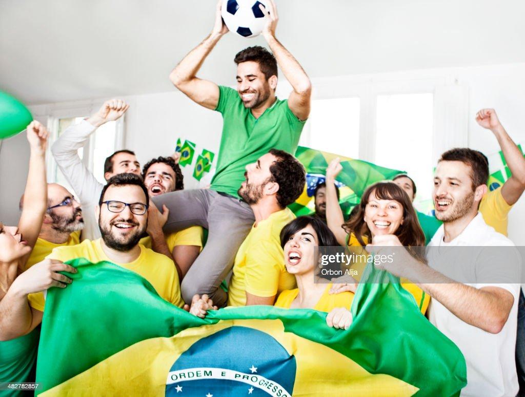 Brasilianische Anhänger : Stock-Foto
