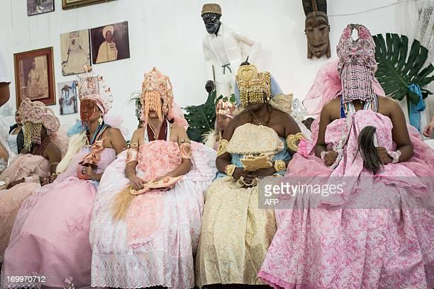 BrazilreligionCandombleUmbandapopeWYD by Gerard Aziakou Candomble AfricanBrazilian religion disciples stay in trance as deities take possession of...