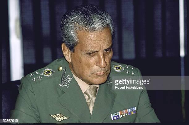 Brazil's Armed Forces Chief Min. Gen. Leonidas Pires.