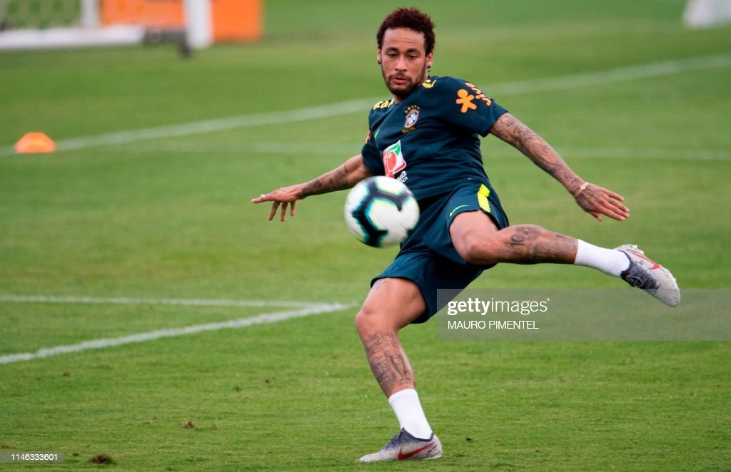 FBL-COPA AMERICA-2019-BRA-TRAINING : News Photo