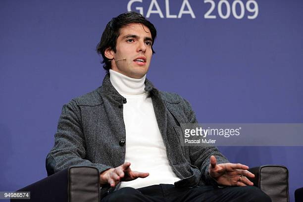 Brazil's Kaka during a Press Conference for the FIFA 2009 Men's Player of the Year at the Kongresshaus on December 21 2009 in Zurich Switzerland