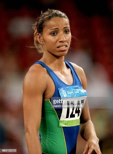Brazil's Lucimara Silva during the Heptathlon Javelin Throw at the 2008 Olympic Games in Beijing