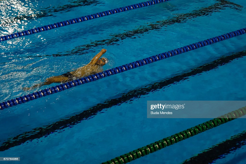2017 Loterias Caixa Swimming and Athletics Open Championship - Practice Session : ニュース写真