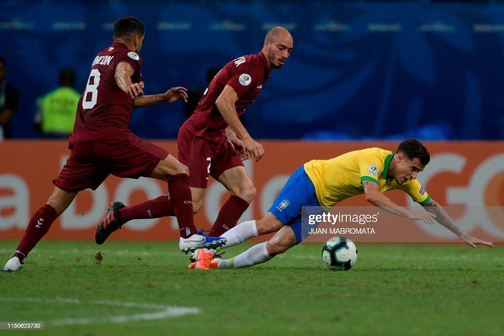 FBL-COPA AMERICA-2019-BRA-VEN : News Photo