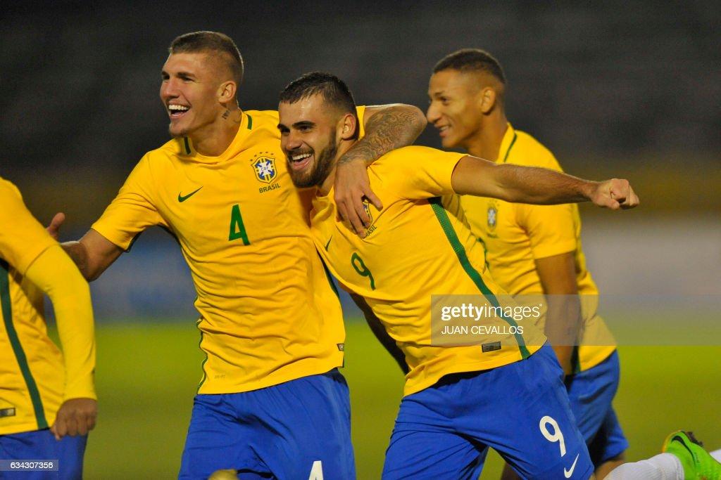 FBL-U20-BRA-ARG : News Photo
