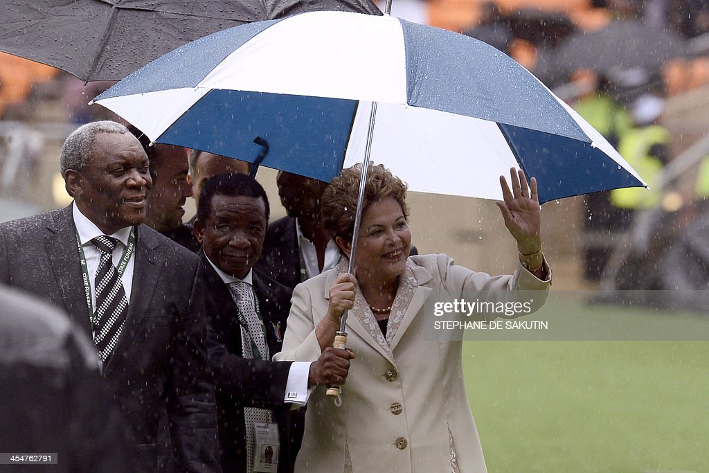 SAFRICA-MANDELA-MEMORIAL : News Photo