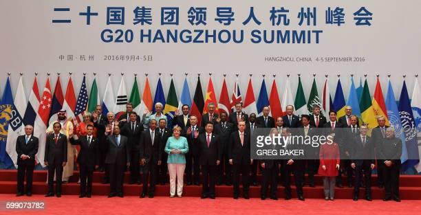 Brazil's President Michel Temer Indonesia's President Joko Widodo Mexico's President Enrique Pena Nieto South Africa's President Jacob Zuma US...