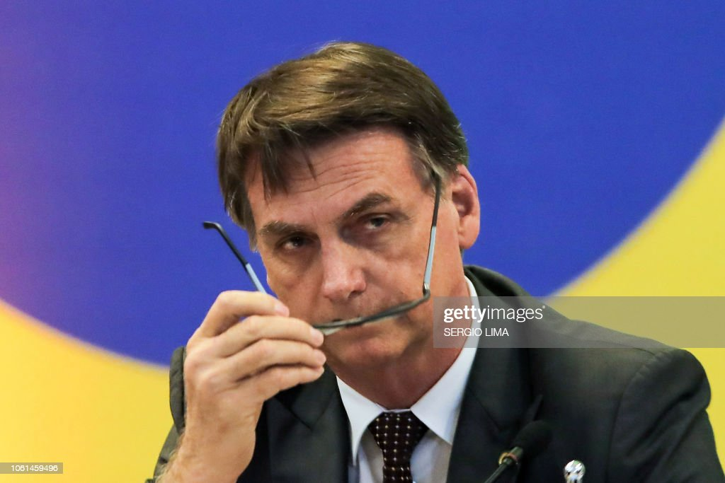 BRAZIL-POLITICS-BOLSONARO : News Photo