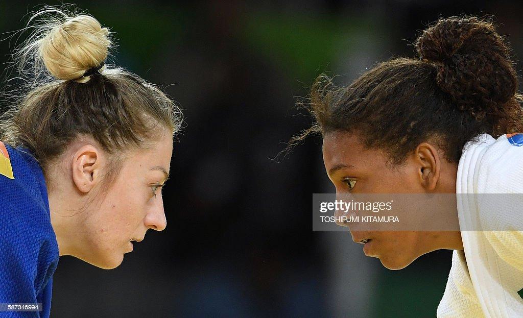 JUDO-OLY-2016-RIO-WOMEN--57KG : News Photo