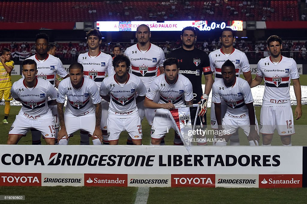 FBL-LIBERTADORES-SAOPAULO-TRUJILLANOS : News Photo