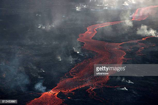 bárdarbunga lava flow, iceland. - tectonic stock photos and pictures