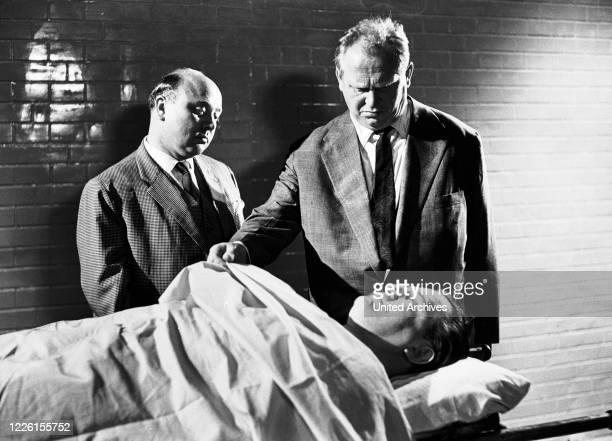 Frankr./Italien 1960 Fritz Lang Versicherungsagent Mistelzweig und Kommissar Kras befassen sich mit einem weiteren Opfer von DR Mabuse.