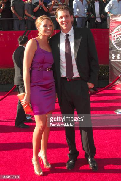 Bre Ladd and Luke Walton attend 17th Annual ESPY Awards at Nokia Theatre LA Live on July 15 2009 in Los Angeles California
