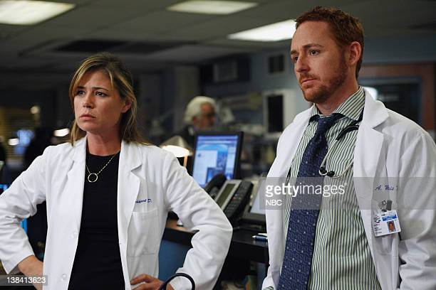 ER 'Breach of Trust' Episode 12 Air Date Pictured Maura Tierney as Doctor Abby Lockhart Scott Grimes as Doctor Archie Morris