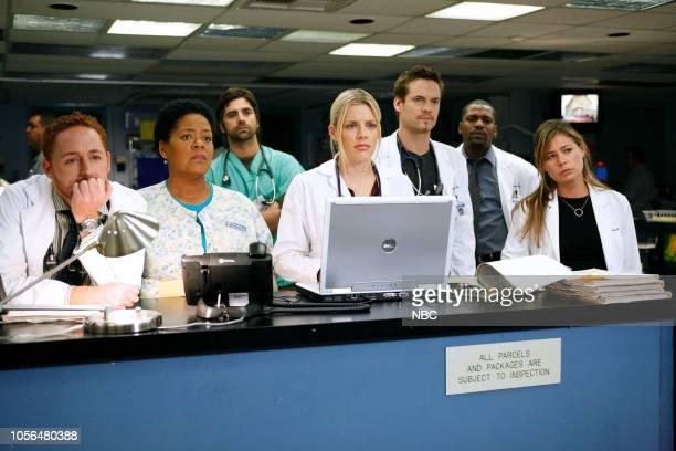 ER 'Breach of Trust' Episode 12 Pictured Scott Grimes as Doctor Archie Morris Yvette Freeman as Nurse Haleh Adams John Stamos as Doctor Tony Gates...
