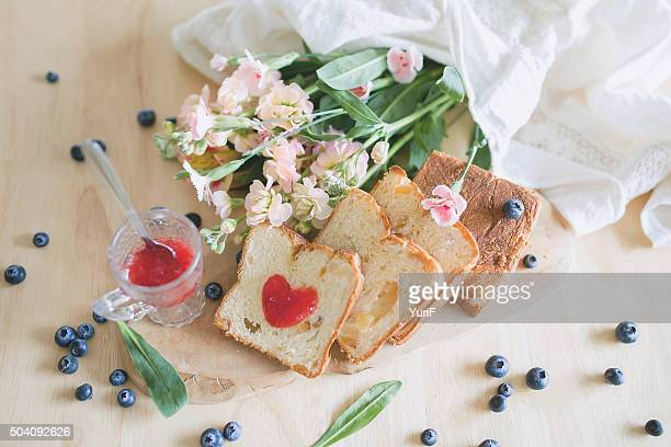 Bread and flower.