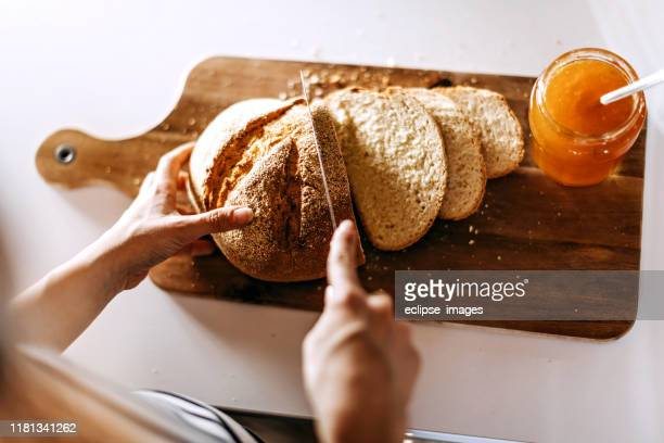 bread and jam - homemade stock pictures, royalty-free photos & images
