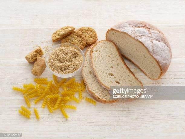 Bread and pasta