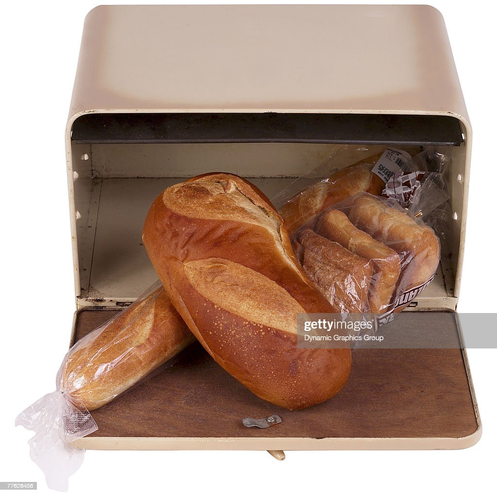 Bread Box : Stock Photo
