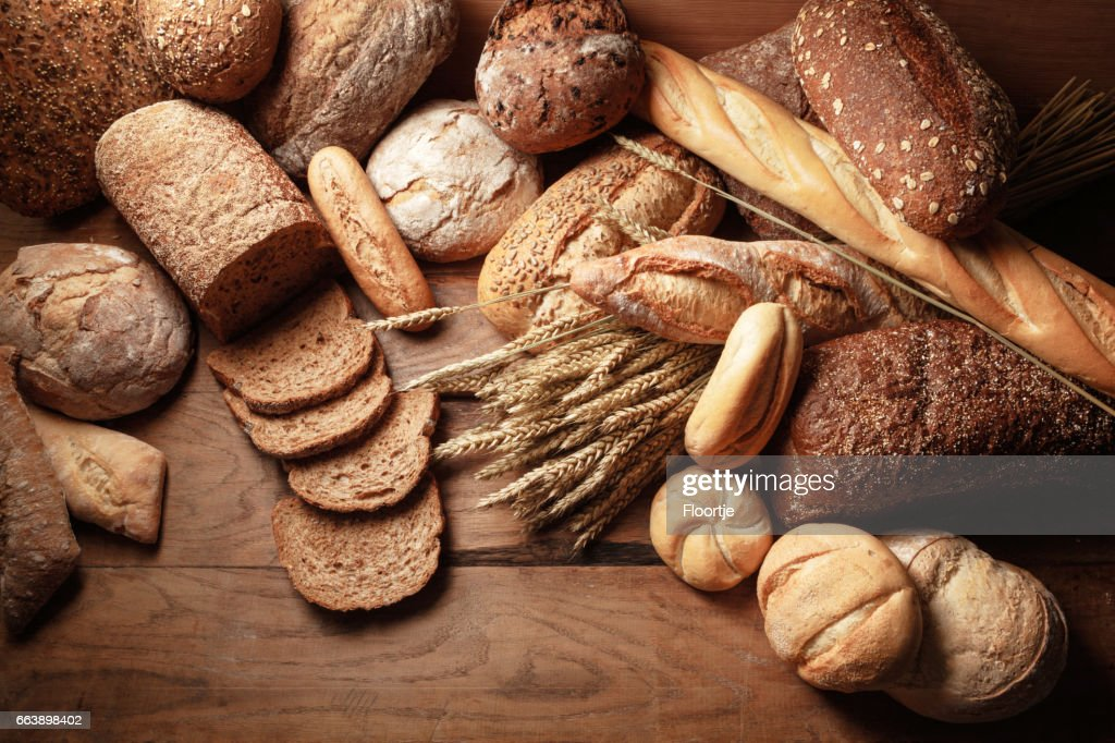 Bread: Bread Variety Still Life : Stock Photo