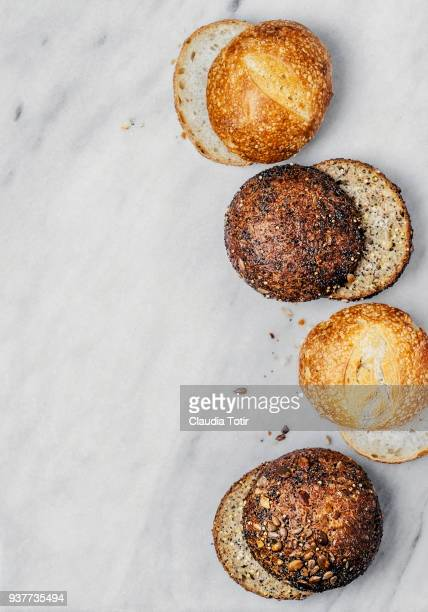 bread buns - bun bread stock pictures, royalty-free photos & images