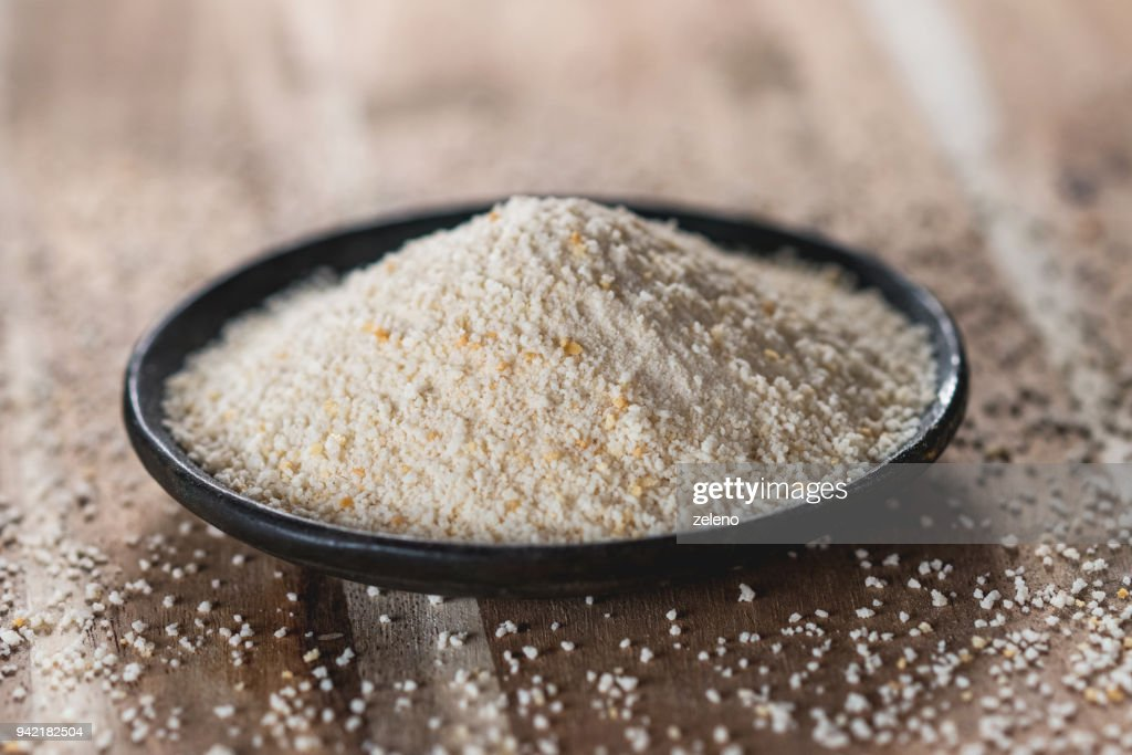 Bread crumbs : Stock Photo