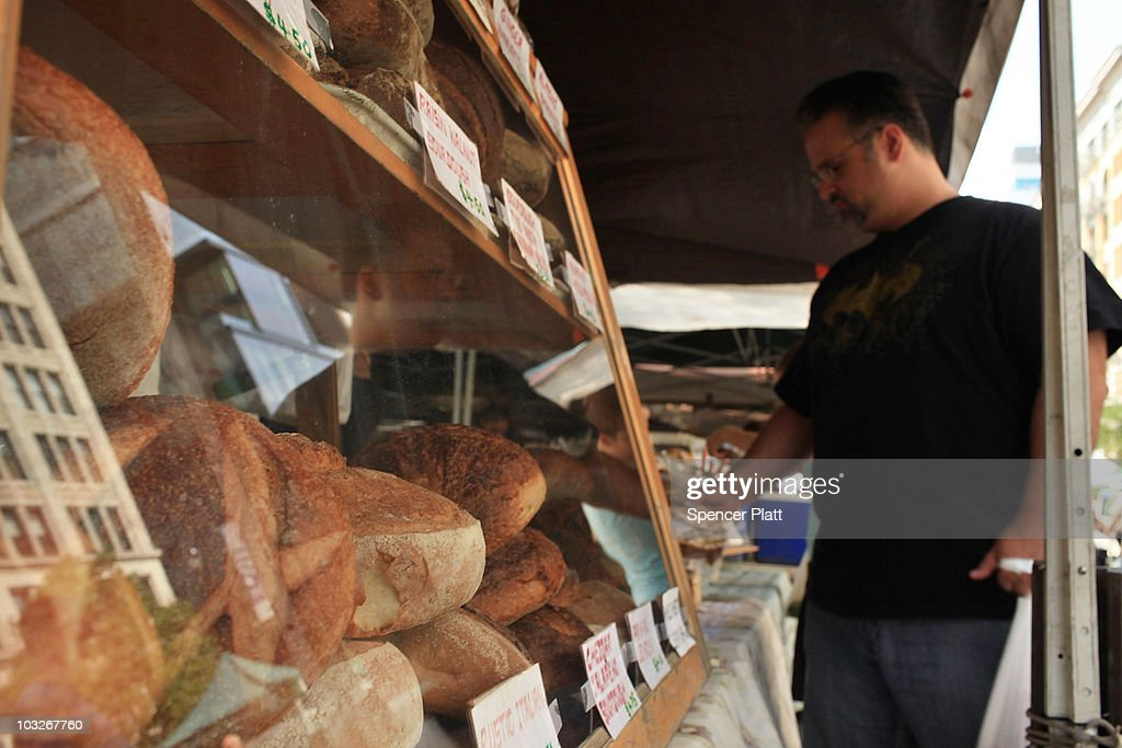 Bread is displayed for sale at a Manhattan market on August 6, 2010 in New York City. As a result of drought and an outbreak of wildfires that have decimated Russia's wheat crop, U.S. wheat prices have been steadily rising, igniting fears of a global rise of food prices. Russia announced a ban on grain and flour exports yesterday, which will take effect from August 15 to the end of the year. While prices fell slightly in trading today, U.S. wheat futures on the Chicago Board of Trade rose over 20 percent earlier in the week, having nearly doubled since early July to $8.41 a bushel.