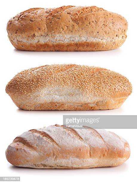 bread loaves - loaf of bread stock pictures, royalty-free photos & images