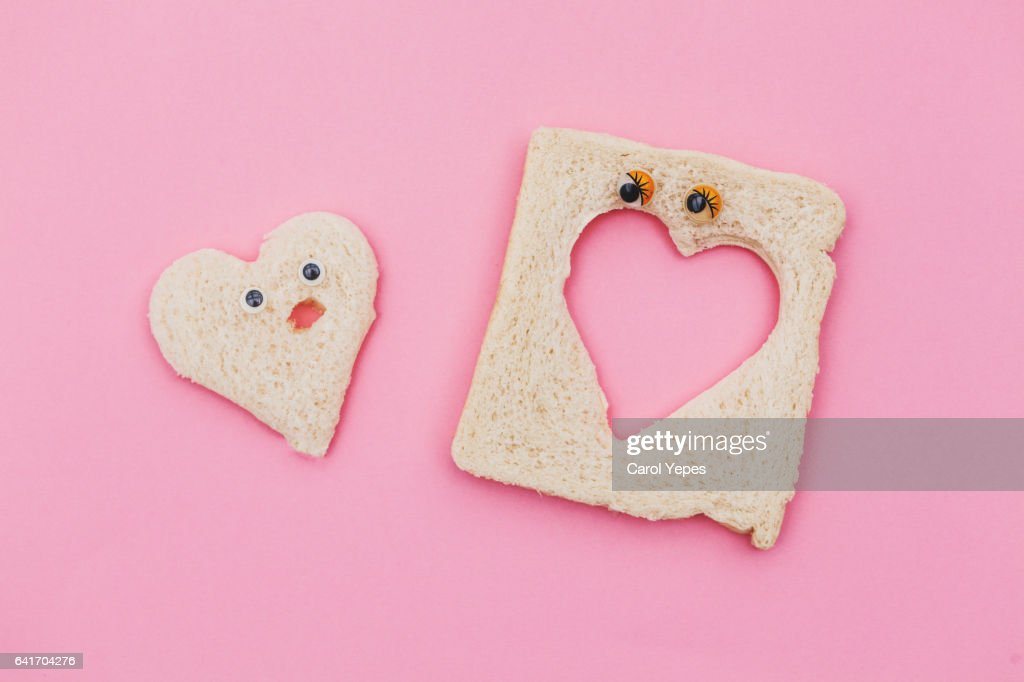 bread love : Stock Photo