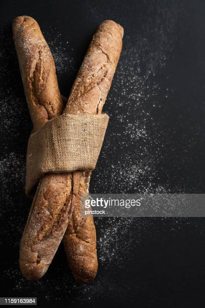 bread - baguette stock pictures, royalty-free photos & images