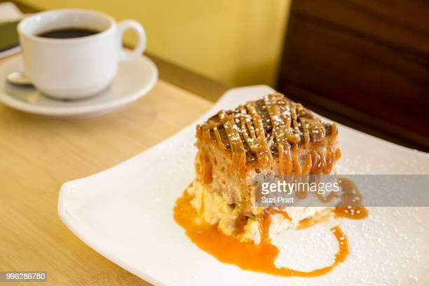 Bread Pudding at HASR Bistro, Honolulu Hawaii
