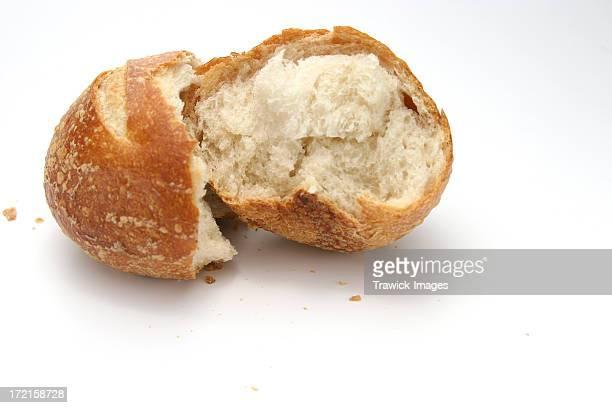 Brot Roll Gebrochen