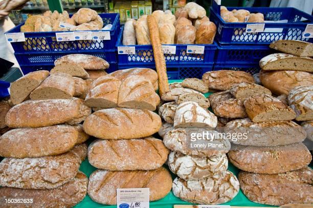 Bread stall, Naschmarkt.