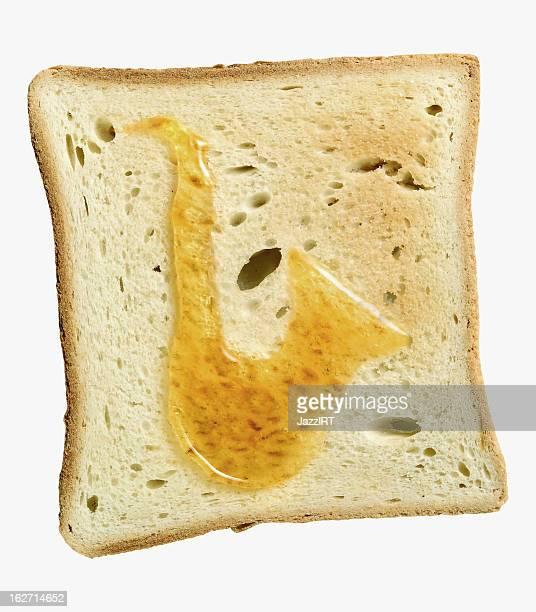 Bread with honey